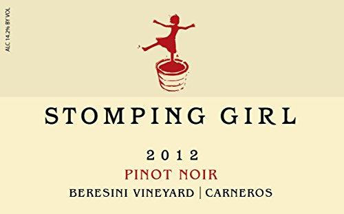 2012 Stomping Girl Pinot Noir Beresini Vineyard Carneros750 Ml