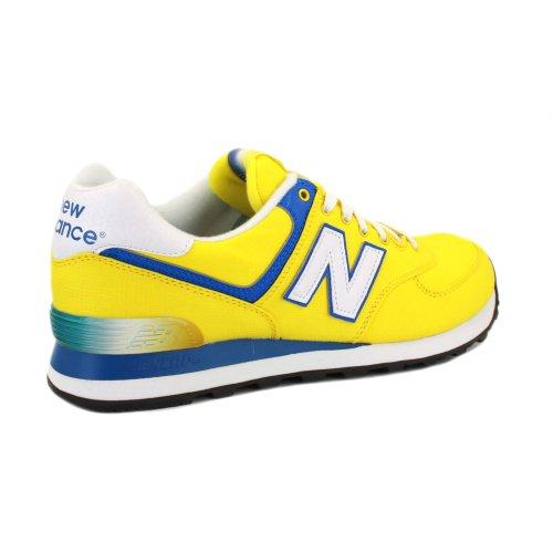 new balance 574 amarillas hombre