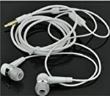 Ear Pods with Remote and Mic for Apple Samsung - White