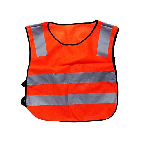 Child Reflective Vest For Outdoors Sports, Kid's Running Safety (for kids 5-10 years)