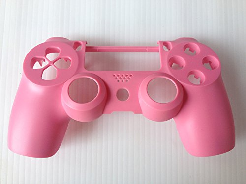 Pink Matte Front Replacement Housing Shell Case Cover Compatible for PlayStation PS 4 PS4 Controller DualShock 4 custom for sony ps4 playstation 4 controller shell case cover dualshock 4 matte pink mod kit matching buttons set