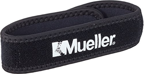 Mueller Jumper's Knee Strap, Black, One Size Fits Most, 1-Count Packages (Pack of 3)