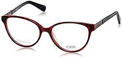 IDEE Full Rim Eyewear Frame (ID1278C1FR|52|Silver and Shiny Black )