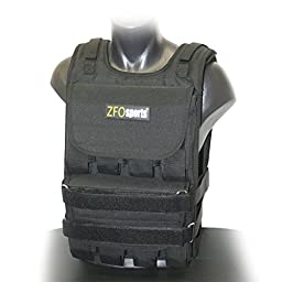 ZFOsports® - 70LBS ADJUSTABLE WEIGHTED VEST