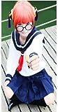 コスプレ衣装   『銀魂』(ぎんたま) 神楽(かぐら) セーラー服  衣装セット Mサイズ  コスチューム