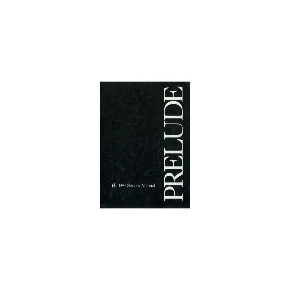 1997 Honda Prelude Shop Service Repair Manual Book Engine Drivetrain Electrical