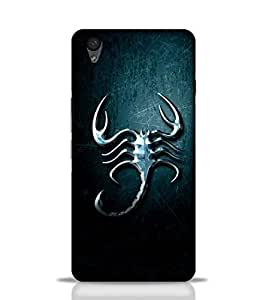 Stylebaby Phone Case Scorpion Back Cover for OnePlus X Multicolor