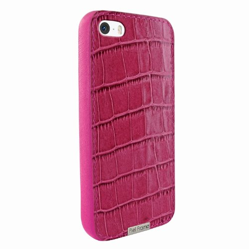 Best Price Apple iPhone 5 / 5S Piel Frama Pink Crocodile FramaGrip Leather Cover