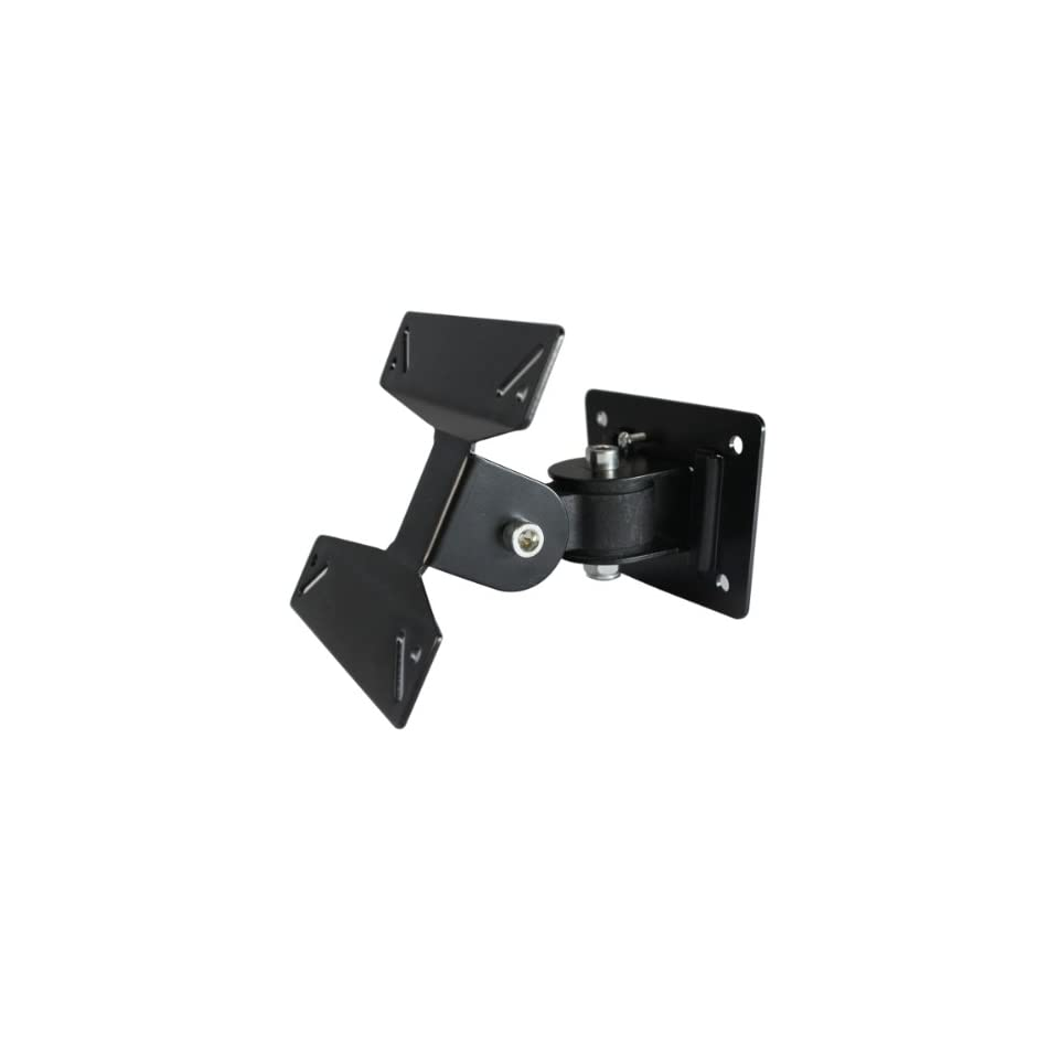 "AUBIG F 01 Adjustable Wall Mount LCD LED Plasma TV Monitor Bracket 30 Degree Tilt 180 Degree Swivel 12""   24"" Electronics"