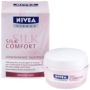 nivea visage silk comfort nachtcreme