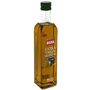Badia Extra Virgin Olive Oil , First Cold Press 17oz (Pack of 2)