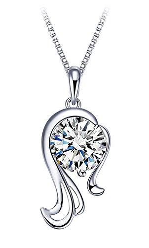 cuoka-925-sterling-silver-cubic-zirconia-zodiac-pendant-necklace-for-women-with-box-chain-46cm-virgo