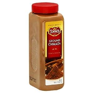 Tone's Ground Cinnamon - 18 oz