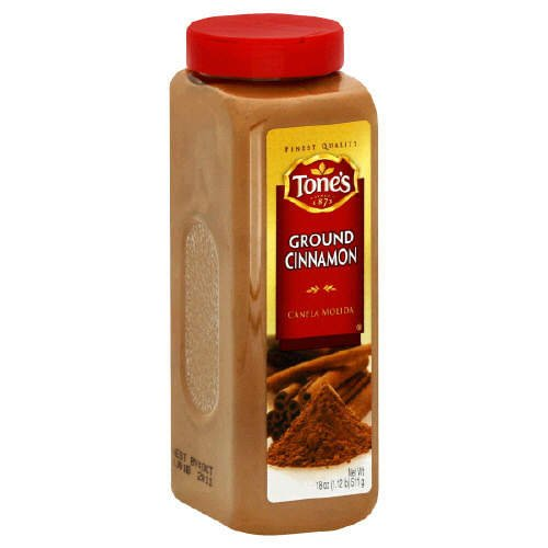 Tone's Ground Cinnamon - 18 oz