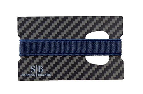 carbon fiber money clip credit card holder slim front pocket minimalist wallet emergancy. Black Bedroom Furniture Sets. Home Design Ideas