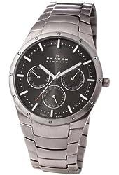 Skagen Men's 596XLTXM Multifunction Titanium Bracelet Watch