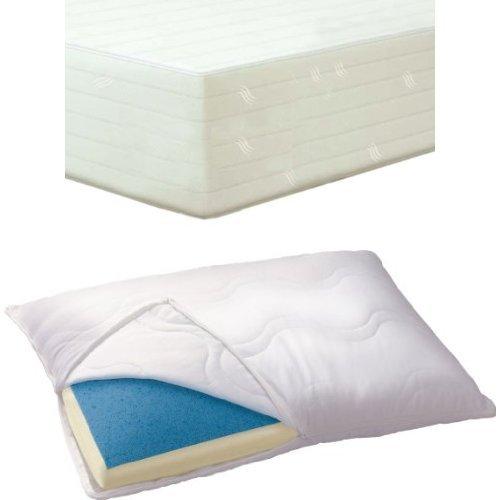 Serta Bundle 12-Inch Gel Memory Foam Mattress With Memory Foam Pillows front-1032885