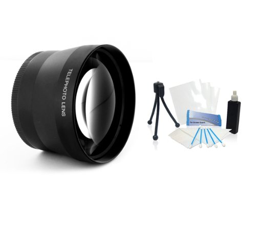 58Mm 2.0X Hd Converter Adapter Telephoto Lens For Olympus Zuiko Lens Ed 40-150Mm F4.0-5.6
