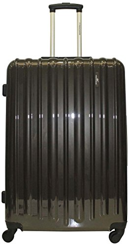 Princeware Princeware Radiant Polycarbonate Dark Grey Luggage Set (6880) (Multicolor)