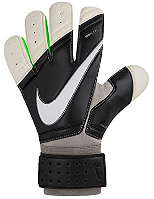 Nike GK Premier SGT Soccer Goalkeeper Gloves (Black, Grey)
