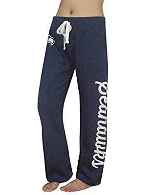 NFL SEATTLE SEAHAWKS Womens Lounge / Yoga Pants (Vintage Look)
