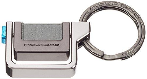 Piquadro PC3344P15/GR2 Pulse Portachiavi, Grigio, 7 cm