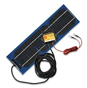 Larson Electronics 1220O2M5Z7Y Solar Battery Charger and Solar Battery Pulser Combination Unit - 6W s by Larson Electronics