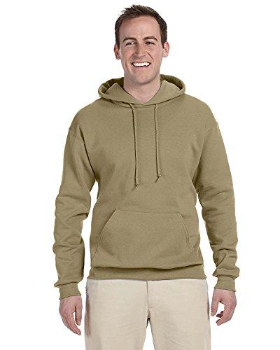 jerzees-mens-nublend-youth-hooded-sweatshirt-khaki-small