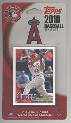 2007 2008 2009 & 2010 Topps Los Angeles Angels Baseball Cards Team Set Lot - Over 65 Cards!! Lot Includes Torii Hunter, Joe Saunders, Howie Kendrick, Bobby Abreu, Kendry Morales, Hideki Matsui & more!