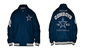 NFL Dallas COWBOYS Wool-Blend Varsity Jacket Authentic~XL by G-III Sports