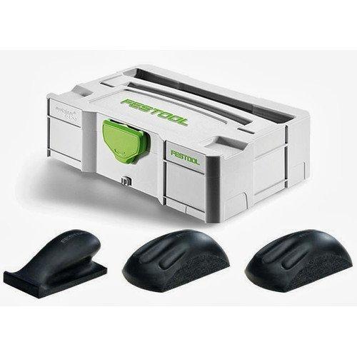Festool 57000022 Hand Sanding Block Set In T-Loc Mini Systainer (Detail Sanding Block compare prices)