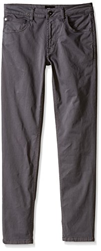 Hudson Big Boys' Jagger Twill Pant, Medium Grey, 20