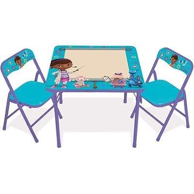 Doc McStuffins Erasable Activity Table and Chair Set