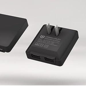 2PORT USB ADAPTOR 2ポートUSBアダプター 黒 ing in ttX10 / X1