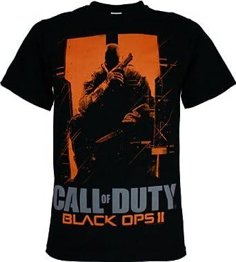 Call of Duty: Black Ops II Big Deuce Men's T-Shirt, Black, X-Large