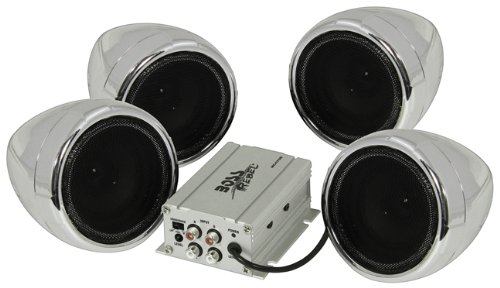 Boss Motorcycle/Utv Speaker System 1000W Bluetooth