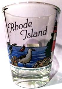 Rhode Island Lighthouse Scene Shot Glass