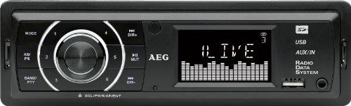 AEG AR 4027 MP3-Autoradio (PLL-Tuner, 4x 80 Watt,