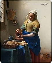 マウスパッド レザック  ヨハネス・フェルメール『牛乳を注ぐ女』 (抗菌性・静電特性に優れています。)【全国送料無料】
