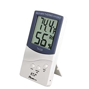 2en1 Termometro/Higrometro MODELO NUEVO HUMEDAD BLANCO