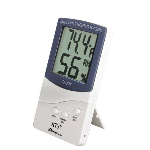 Digital Hygrometer Wet Humidity Thermometer Temperature Meter Lcd Display