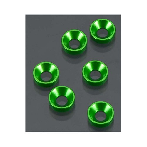 Axial Cone Washer 3X7X2mm (Green) (6) A1326 - 1