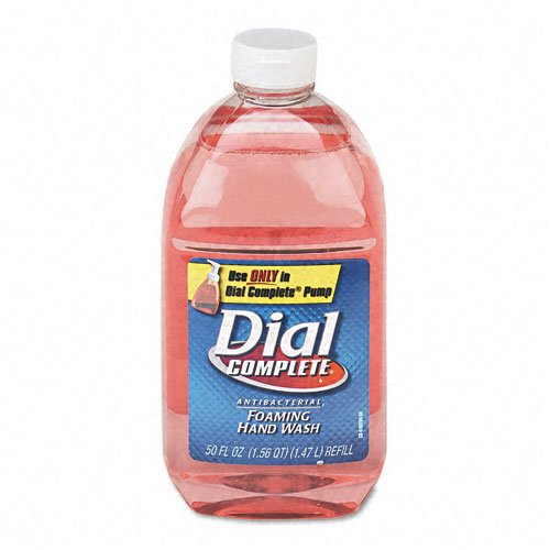 Dial : Foam Soap Refill, Foam, Dispenser, 50oz Refill -:- Sold as 2 Packs of - 1 - / - Total of 2 Each