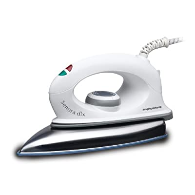 Morphy Richards Senora Dlx 1000-Watt Dry Iron (White)