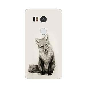 Back cover for Nexus 5X Cute Fox