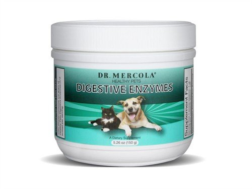 Mercola - Mercola Digestive Enzymesd For Pets, 5.26 oz powder
