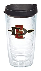 Buy NCAA Tervis Tumbler San Diego State Aztecs 16oz. Tumbler Cup with Lid by Tervis Tumbler