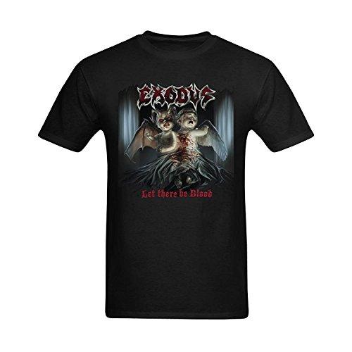 Men's Exodus Let There Be Blood Art Design T-Shirt