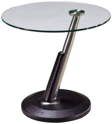 Image of Magnussen Modesto Metal Round End Table (B003KK62EA)
