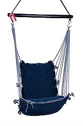 Kkriya Maarketing Regular Swing & Hammock (Green and Blue)